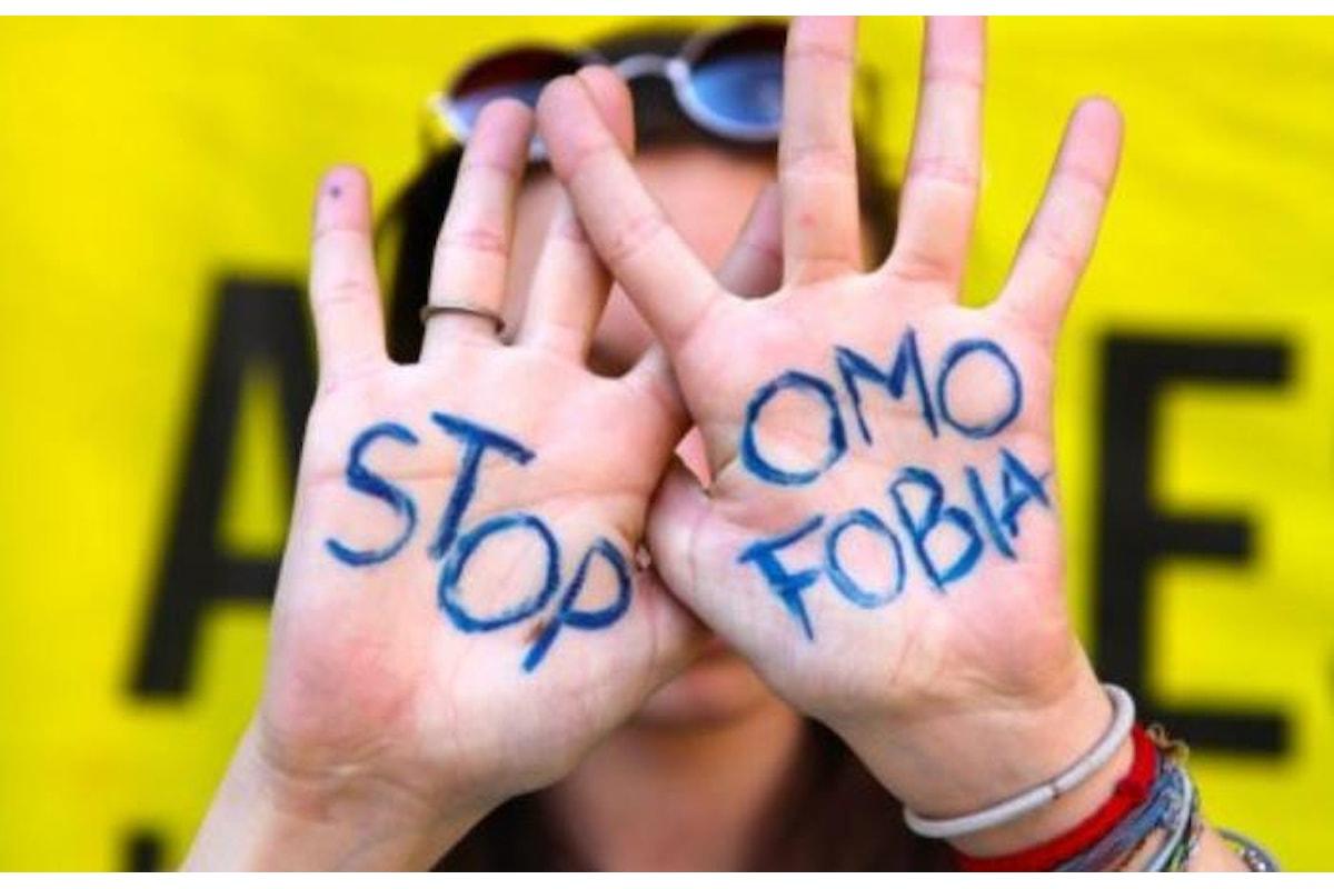 Italia In aumento i casi di omofobia