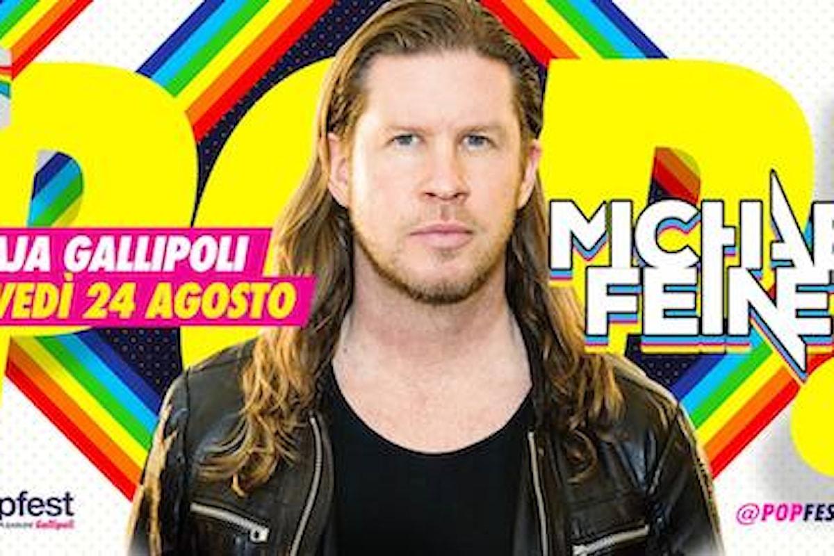 24/8 Michael Feiner, 27/8 Federico Scavo, 31/8 Ema Stokholma PopFest - People on Pleasure c/o Praja - Gallipoli (LE) chiude in bellezza