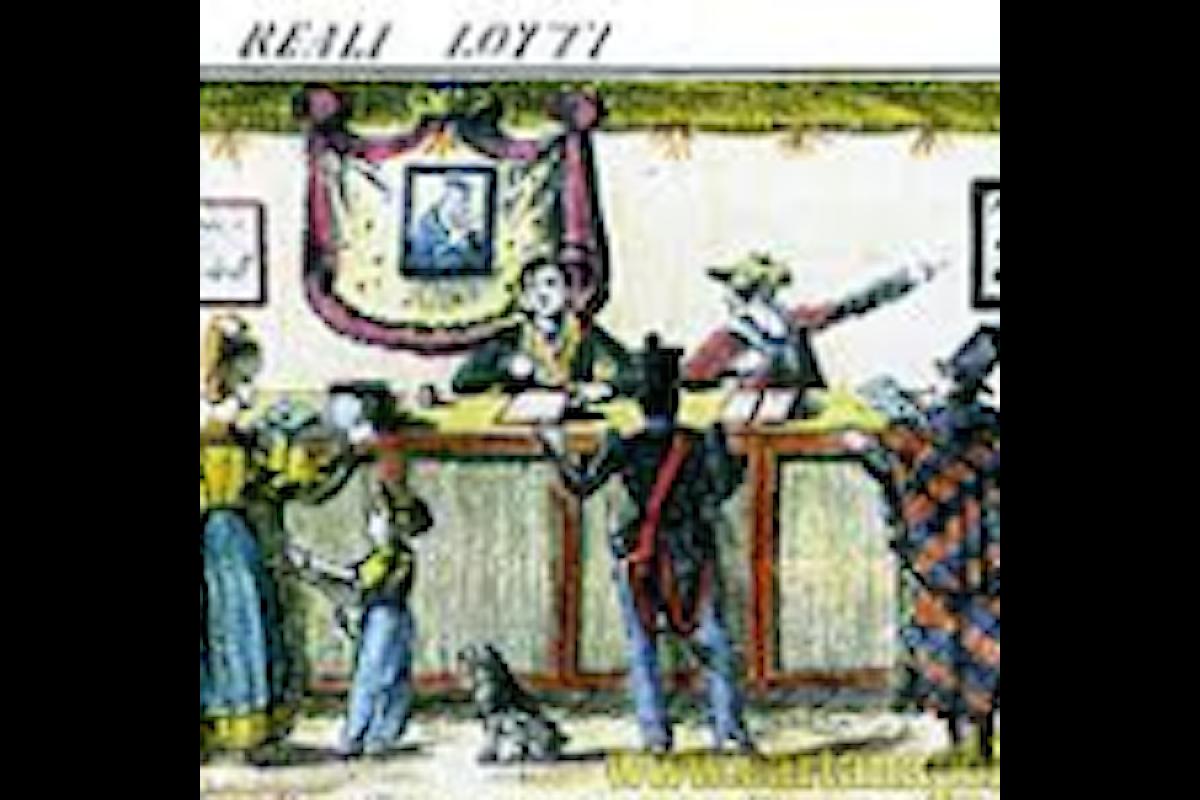 Nel Cinquecento il gioco del Lotto usato per eleggere gli amministratori della Res Publica