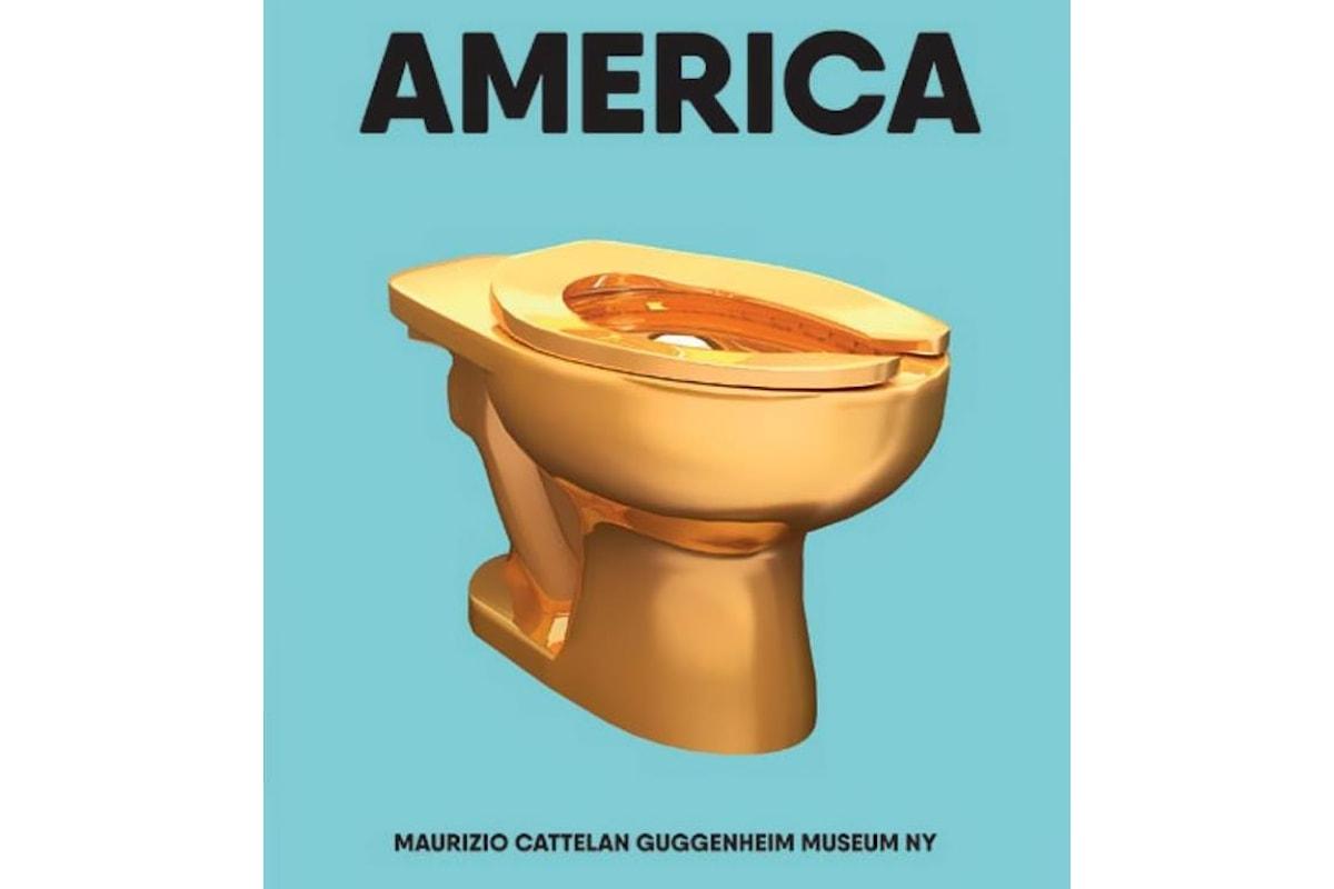 America di Maurizio Cattelan fu profezia della politica di Donald Trump
