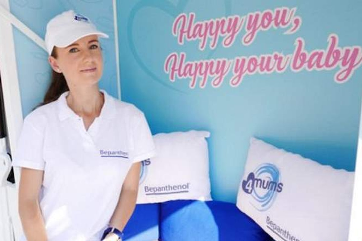 Bepanthenol 4mums tour autunnale: happy you happy your baby