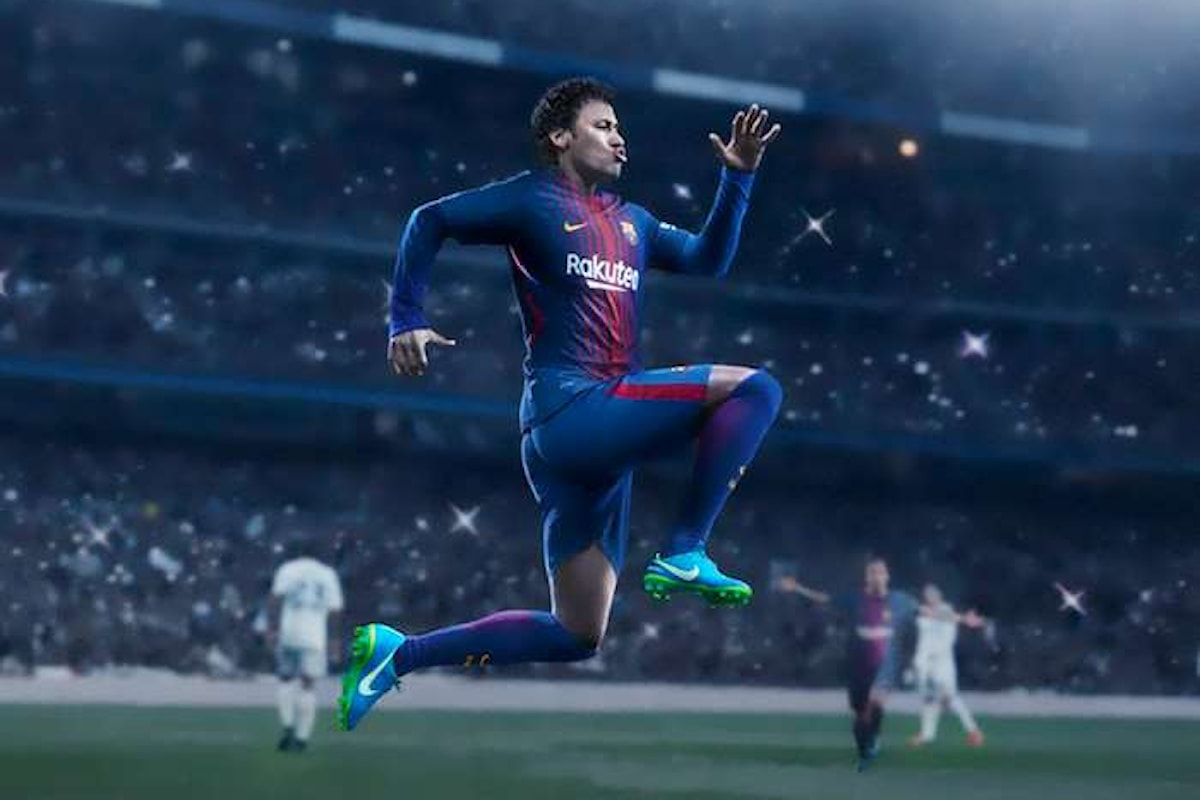 Neymar diventa un calciatore del Paris Saint Germain