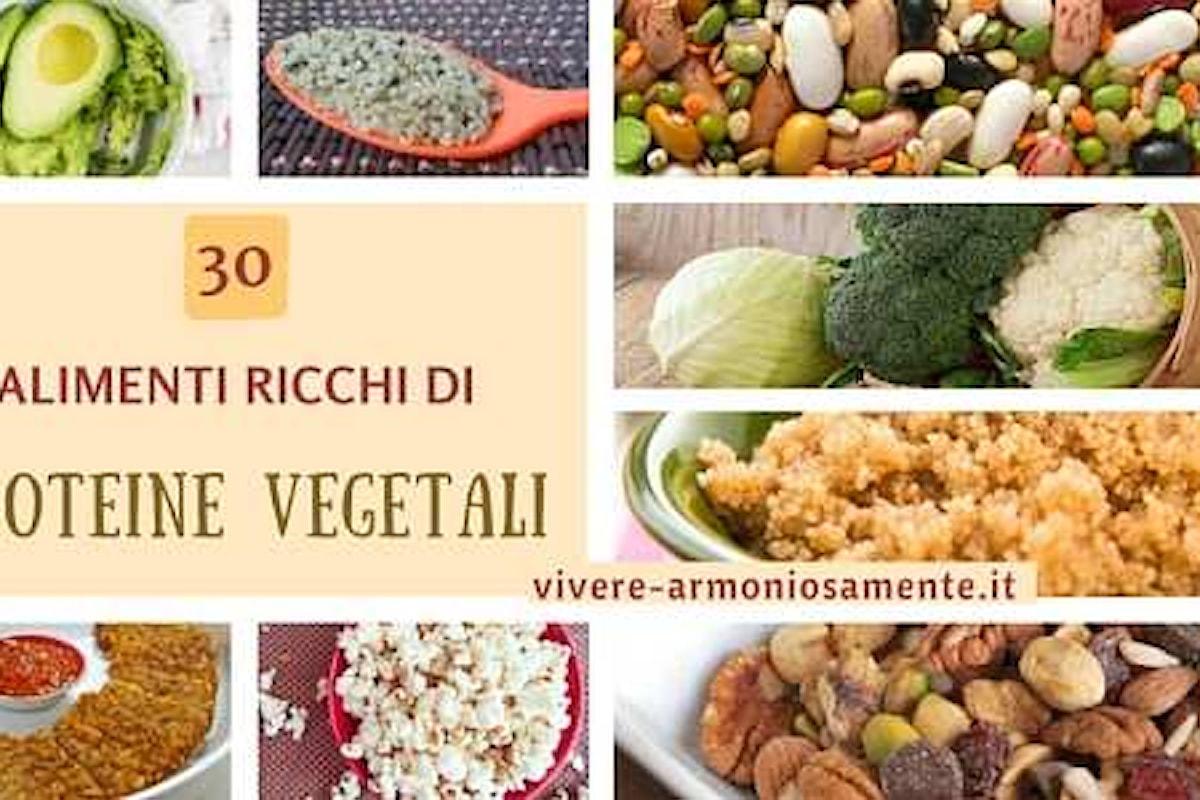 30 Cibi Ricchissimi di Proteine Vegetali