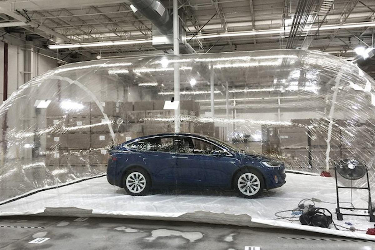 Gli incredibili filtri per l'aria di Tesla Model X