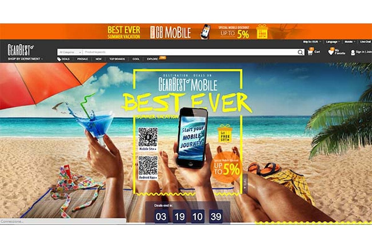 Giorni di promozioni prodotti Xiaomi su GearBest