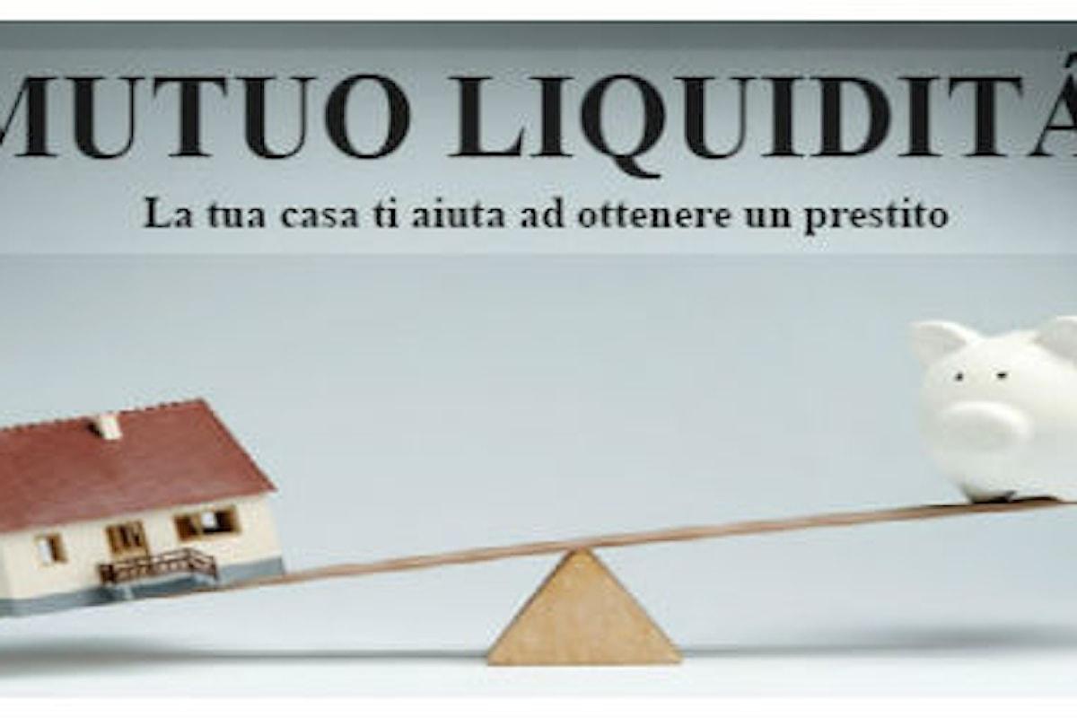 Mutuo liquidità, come ottenere un prestito dando la casa come garanzia