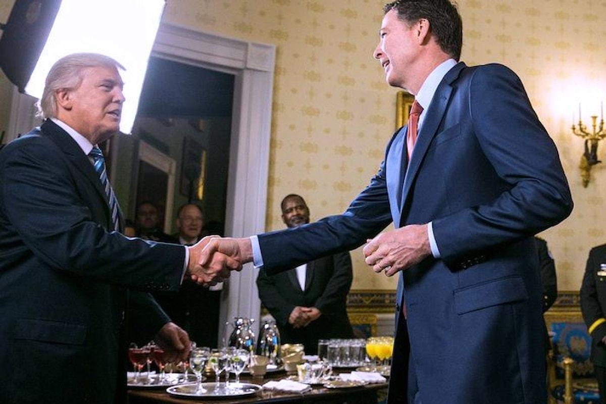 In un libro, l'ex direttore Fbi Comey dice che Trump non sa che cosa sia l'etica... e non solo!