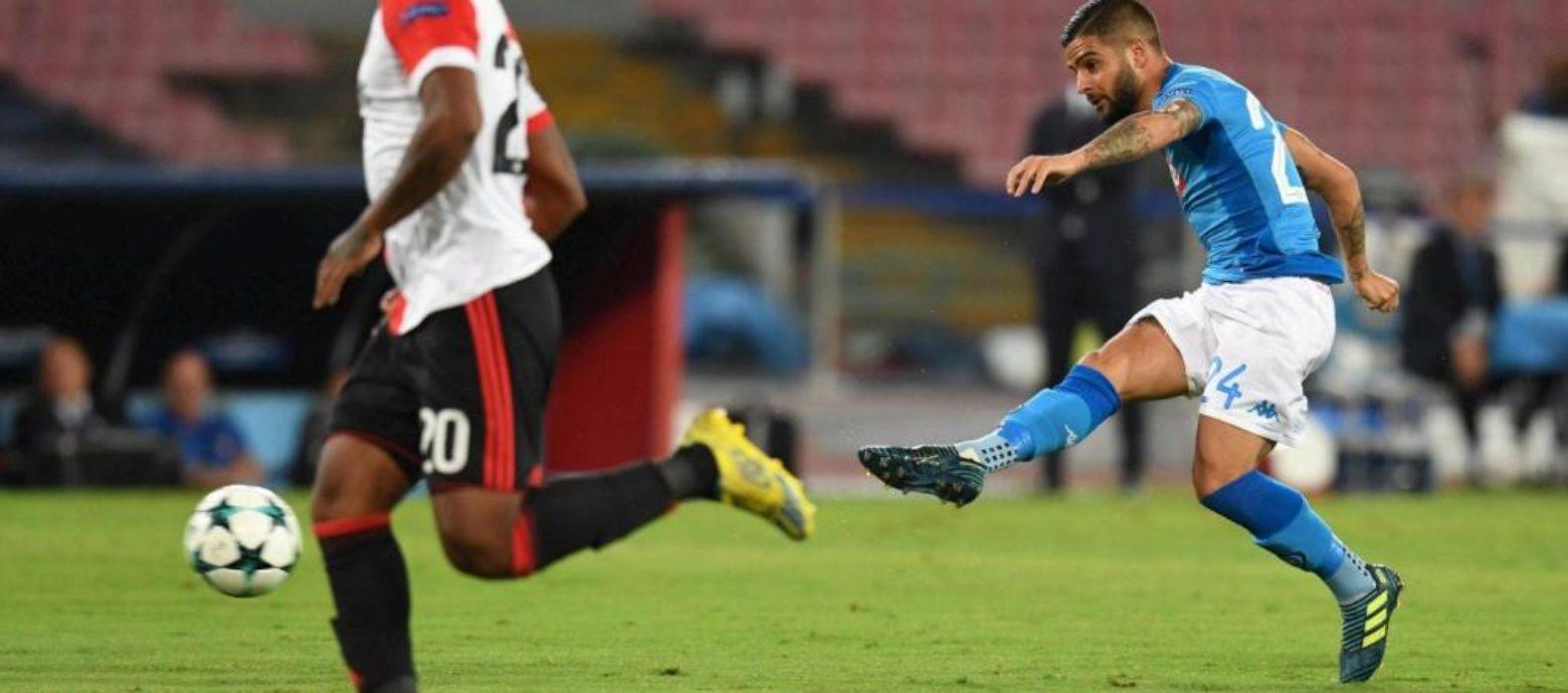Champions League, Napoli-Feyenoord 3-1. Pesa il gol subito all'ultimo secondo