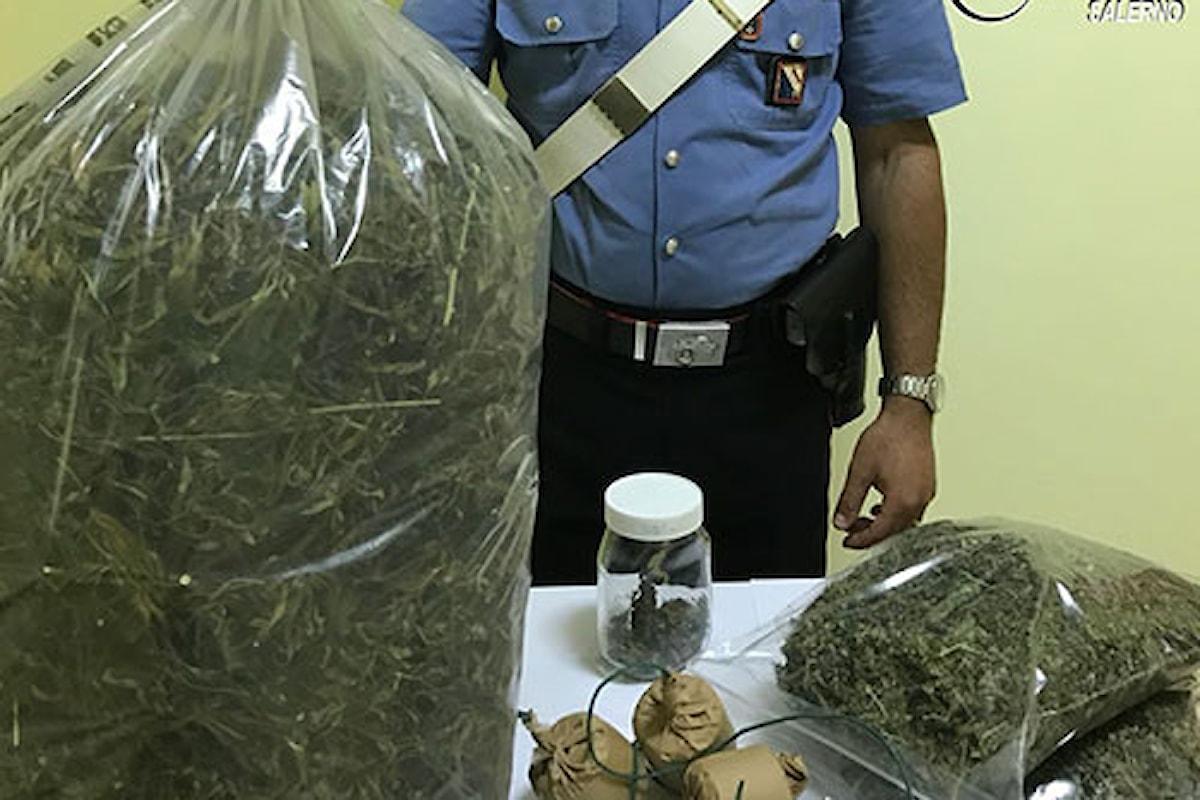 Montesano S.M. (SA): beccato con 4 kg di droga, in manette 44enne