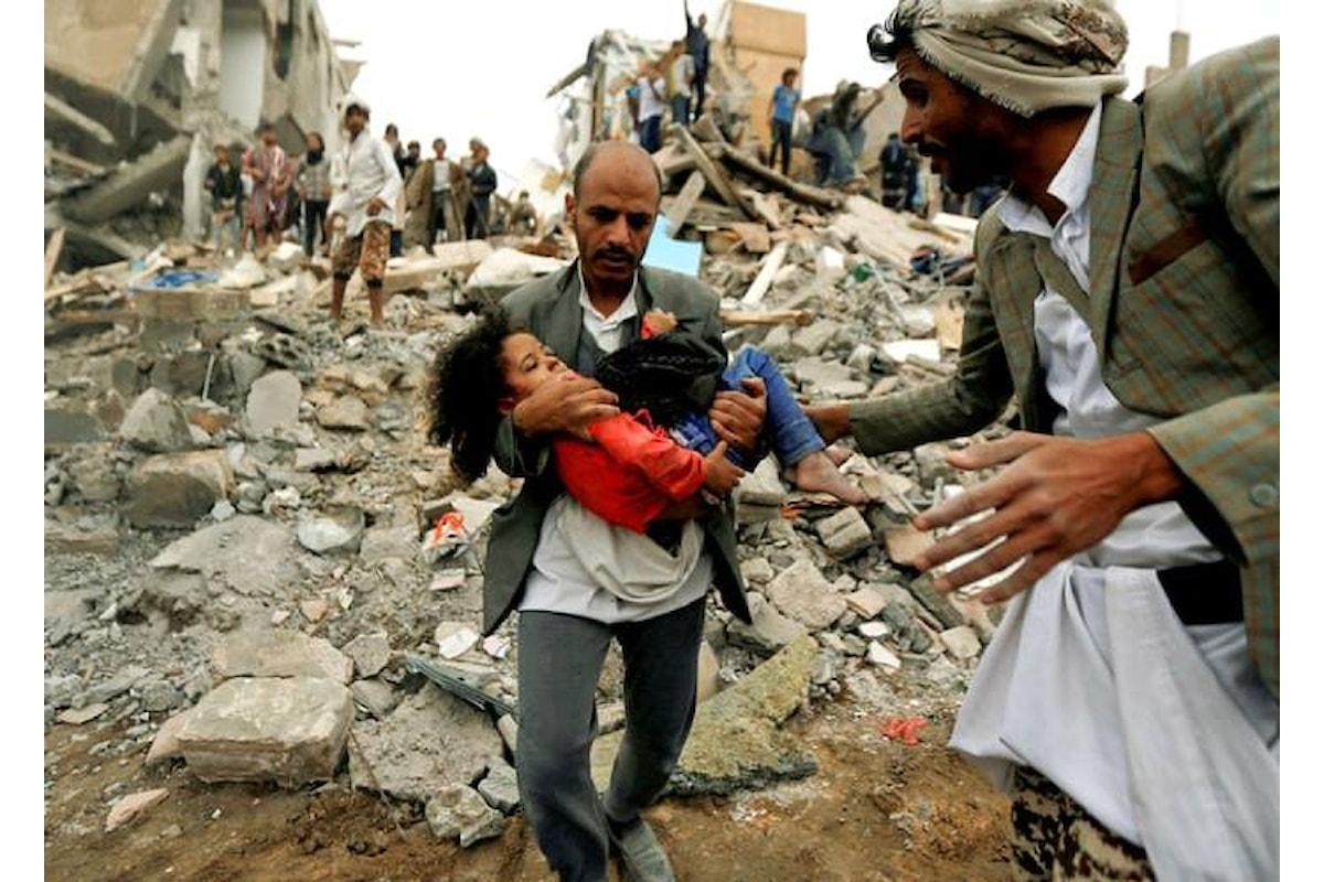 Se numeri e storie di una strage contassero davvero la guerra in Yemen sarebbe già terminata