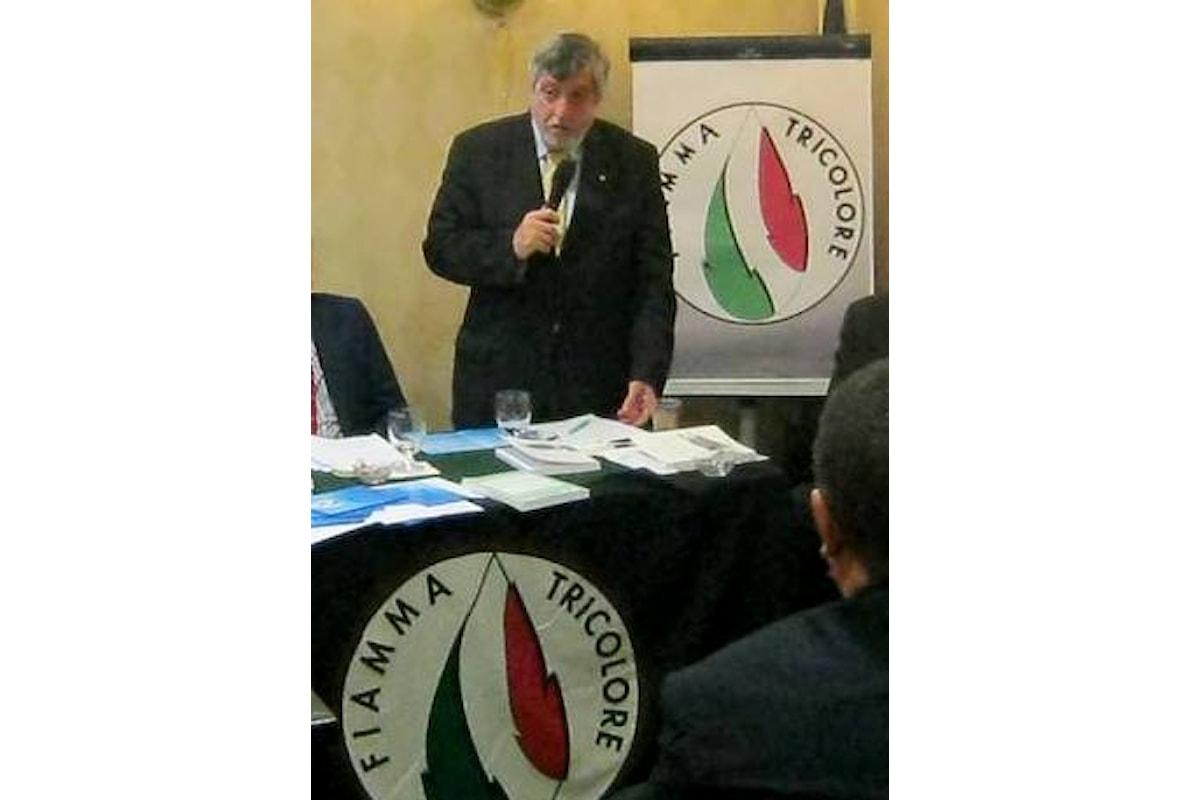 Il Segretario Nazionale di Fiamma Tricolore Attilio Carelli in visita in Sicilia