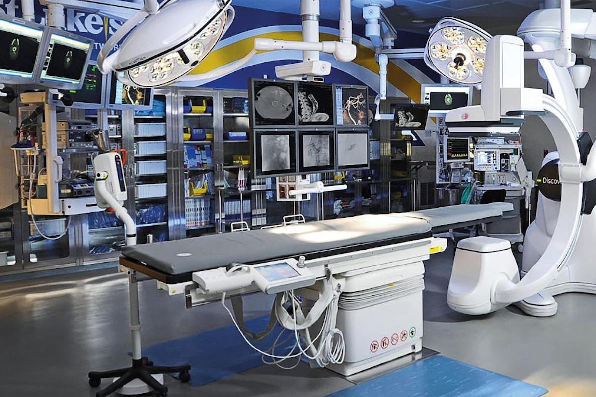 La sala ibrida all'Ospedale di Modena: una realtà grazie a Rock no War e Banca Interprovinciale