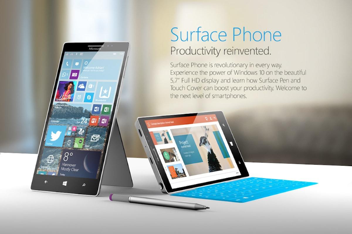 Microsoft dichiara dispositivi di fascia alta e categoria innovativa. Annuncia il Surface Phone ? | Surface Phone italia