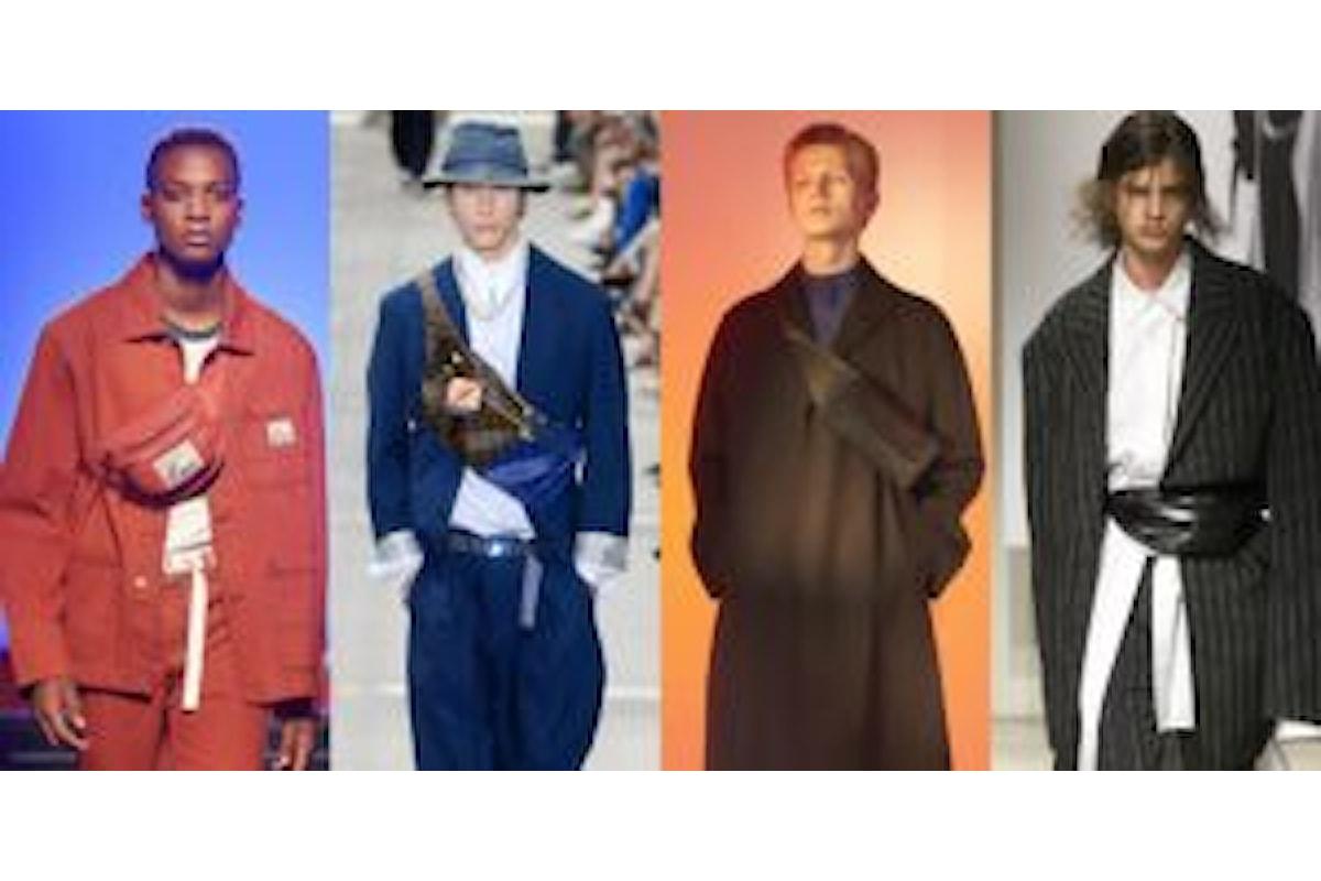 Accessori moda: il marsupio nell'estate 2018