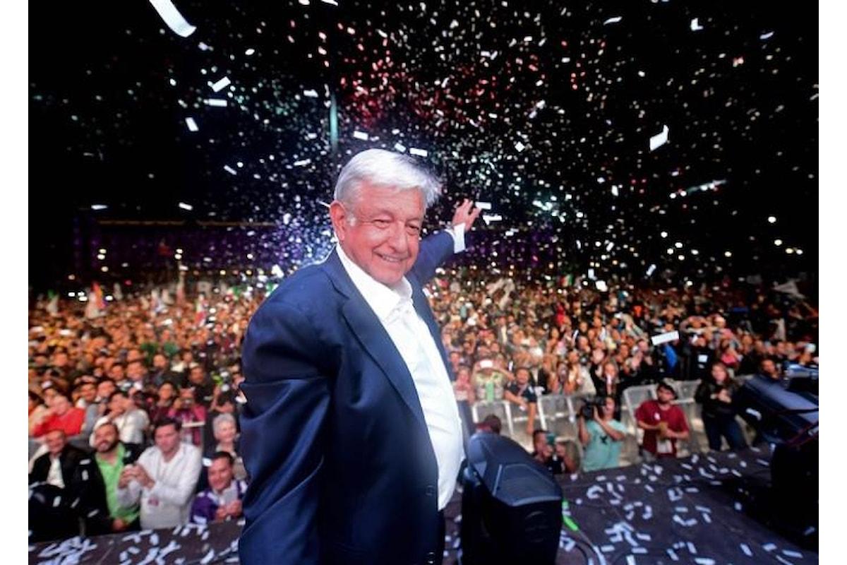 Lopez Obrador eletto nuovo presidente, il Messico svolta a sinistra