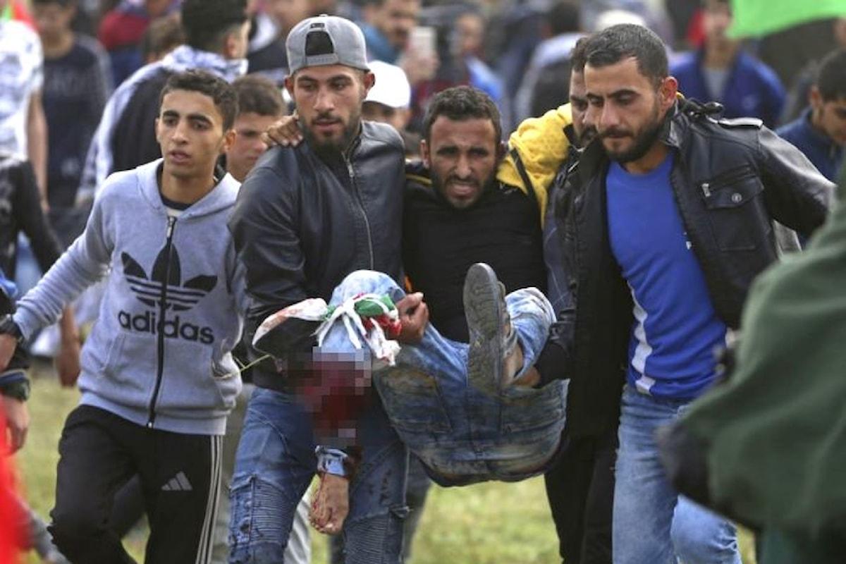 Grande Marcia del Ritorno, gli israeliani sparano sui palestinesi: almeno sette i morti e centinaia i feriti