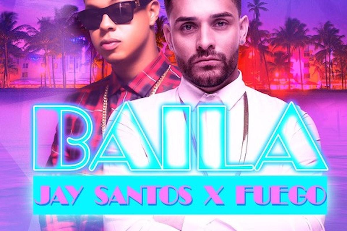 Jay Santos presenta Baila il nuovo singolo su Sony Music: 25/6 Molo Street Parade - Rimini