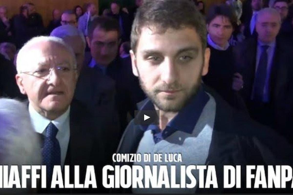 Giornalista Fanpage aggredita a Salerno