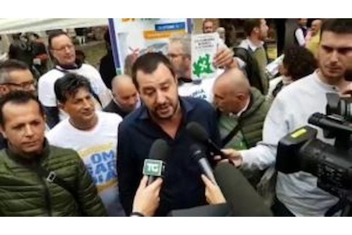 Matteo Salvini: la differenza tra referendum catalano e quello proposto da Veneto e Lombardia