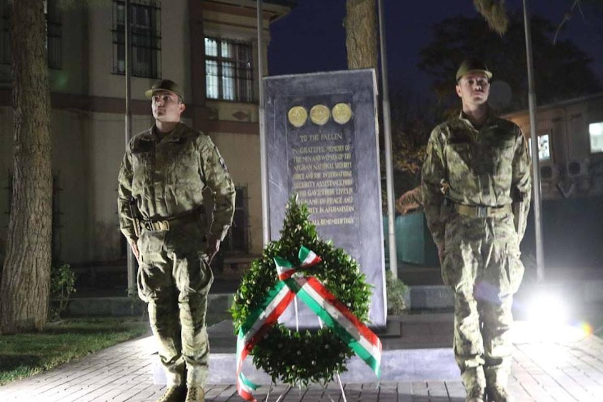 Afghanistan, militari italiani celebrano il 4 novembre in missione