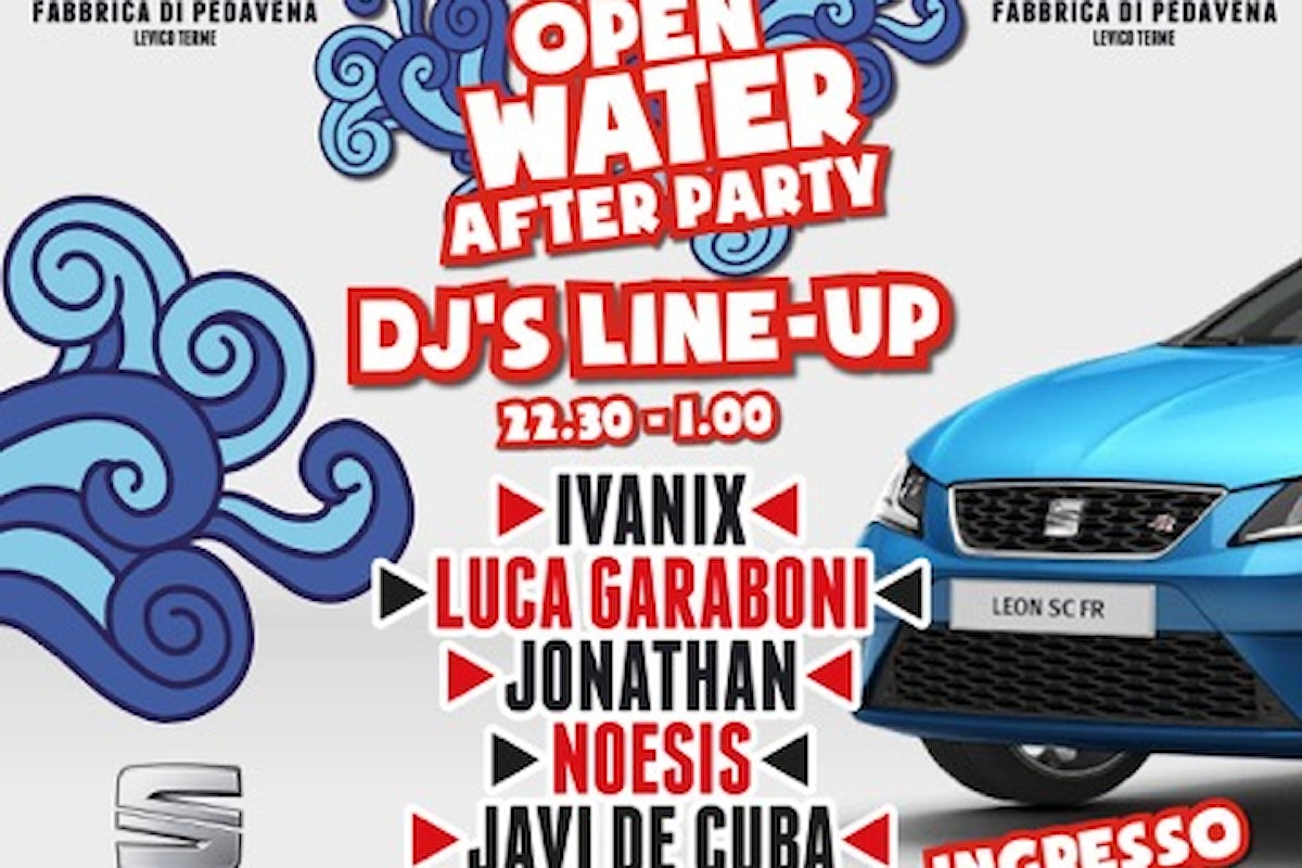 10/7 Red Bull Open Water After Party @ Fabbrica di Pedavena Levico Terme (TN)