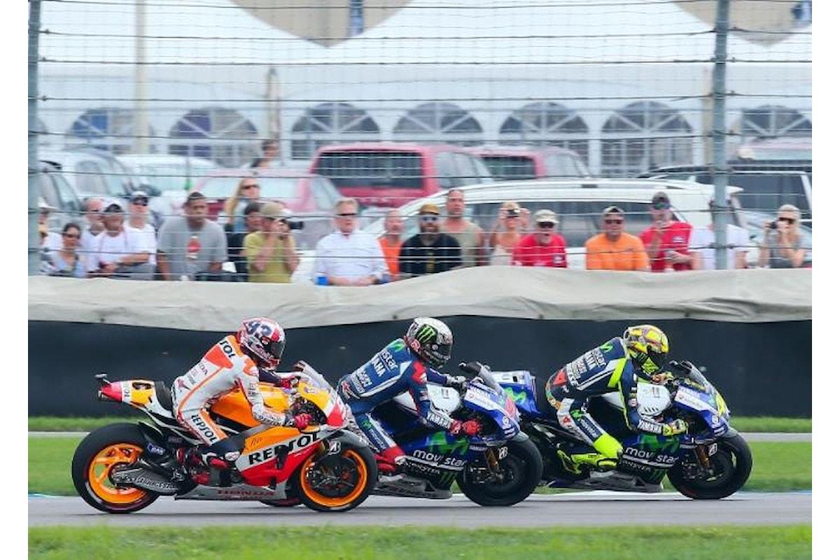 La MotoGP si trasferisce in Gran Bretagna. Ecco cosa hanno detto Rossi e Marquez