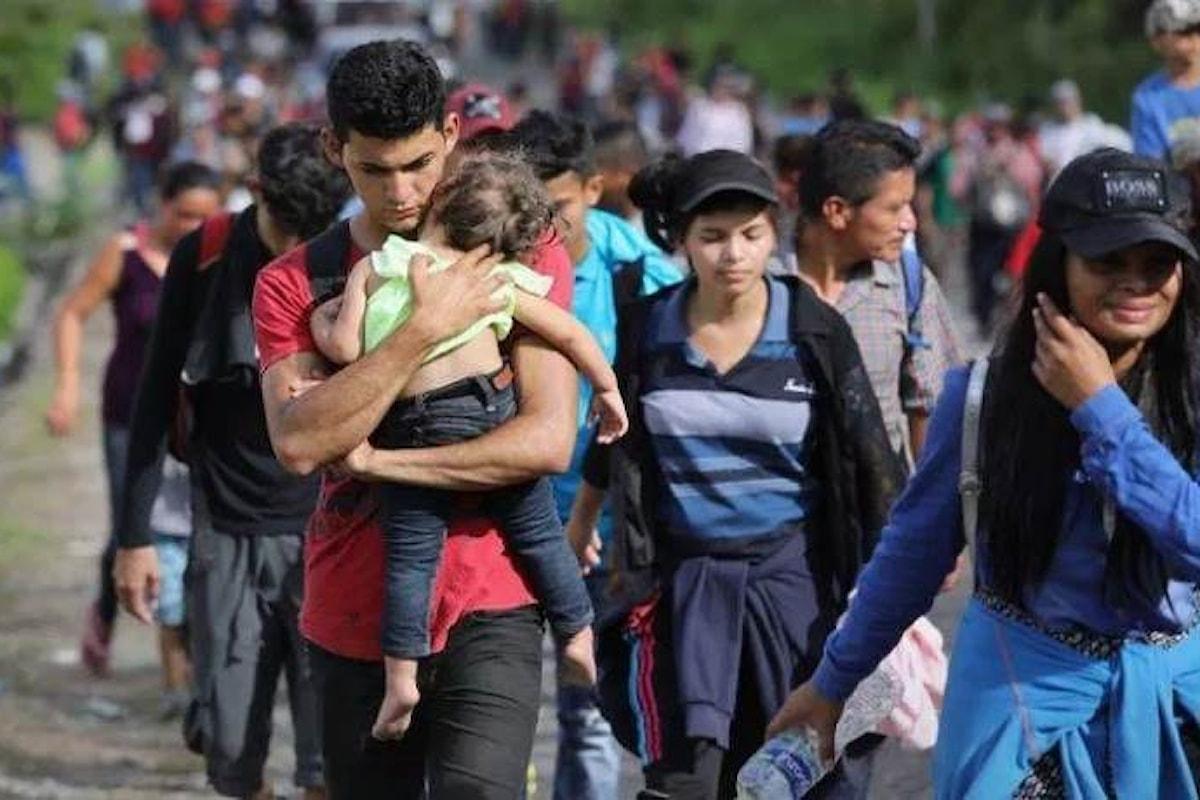 Saranno migliaia i soldati Usa inviati al confine con il Messico per fronteggiare la marcia dei disperati dal Centro America
