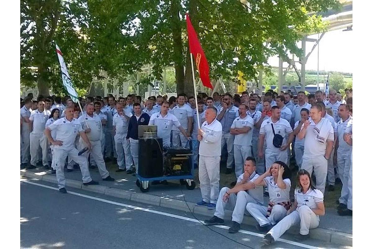 In Serbia i lavoratori della Fiat sono in sciopero da due settimane