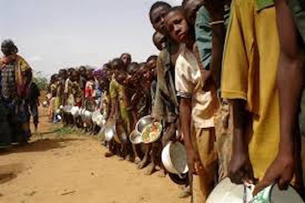 Per colpa dei conflitti 124 milioni di persone rischiano la morte per fame