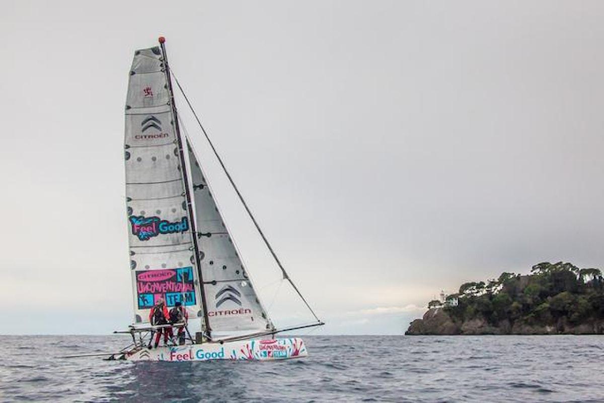 Il Feel Good in attesa del vento favorevole per battere il record oceanico sulla tratta Dakar-Guadalupa