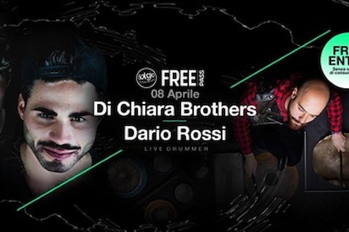 8/4 Bolgia Bergamo - Free Pass: sul palco Di Chiara Brothers con Dario Rossi
