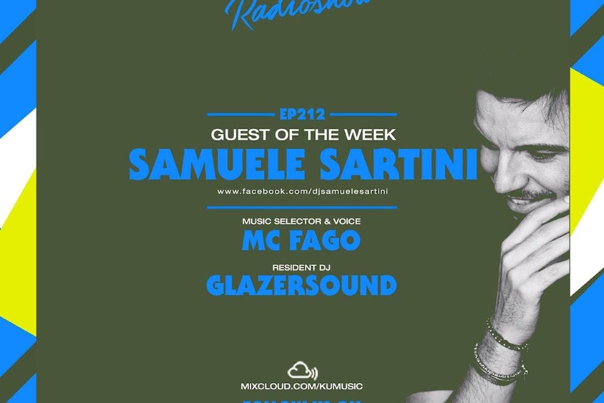 Samuele Sartini dj guest del KuMusic Radio Show