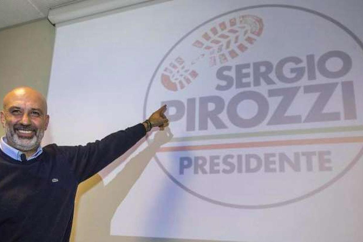 Il nostalgico del duce Sergio Pirozzi, sindaco di Amatrice, vuole diventare presidente del Lazio