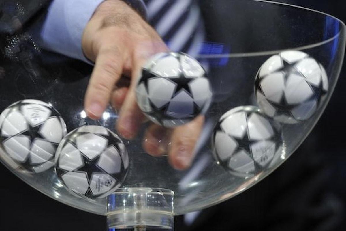 Sorteggi Champions League LIVE diretta! Ecco chi pescalaJuventus!
