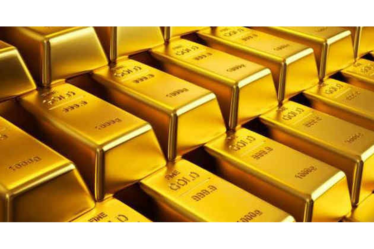 Mercato dell'oro senza via di uscita dal livello 1200 dollari