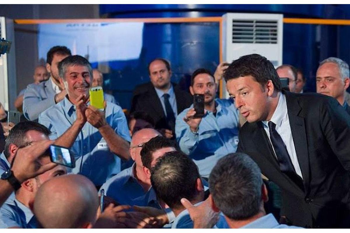 Renzi manda il partito per strada con la scusa del taglio delle tasse, ma pensando ai ballottaggi