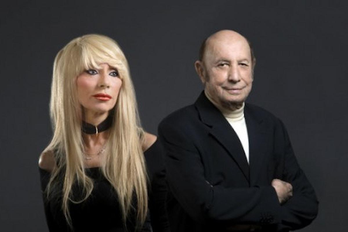 """Sabina Negri e Francesco Alberoni: Coppia insolita sopra """"Il filo spinato dell'amore"""" al Teatro Manzoni Milano."""