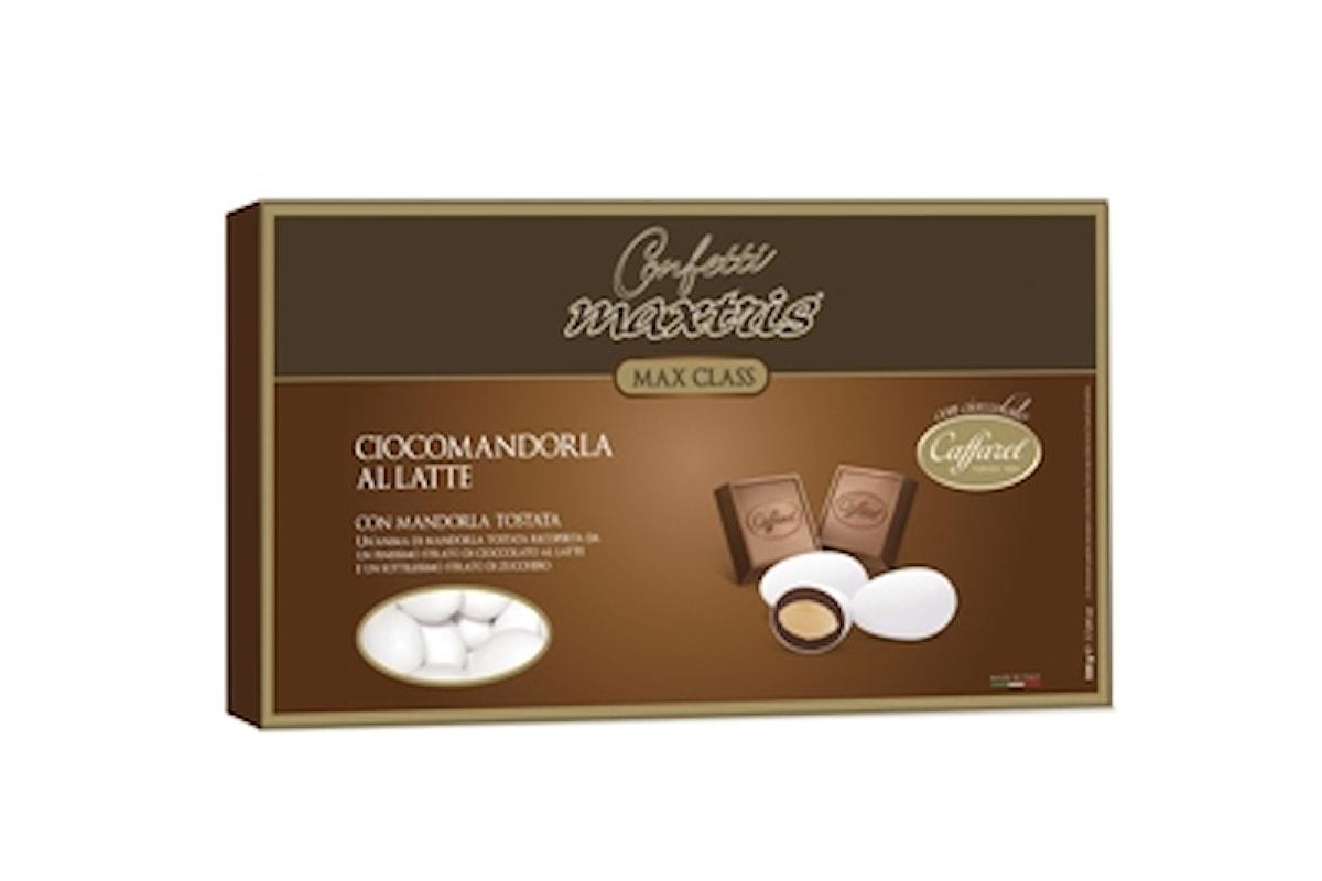 Confetti Maxtris e cioccolato Caffarel: un matrimonio perfetto