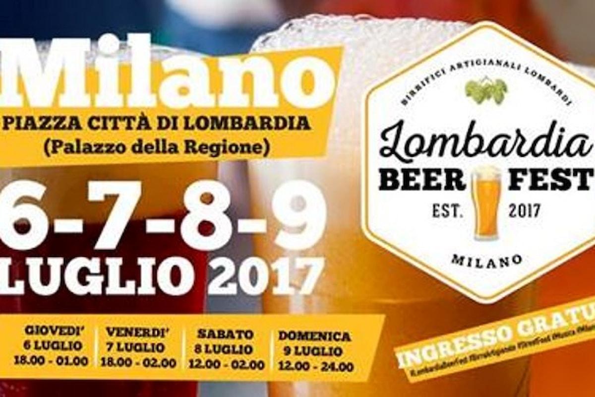 A Milano, dal 6 al 9 luglio, il primo festival dedicato ai migliori Birrifici Artigianali Lombardi