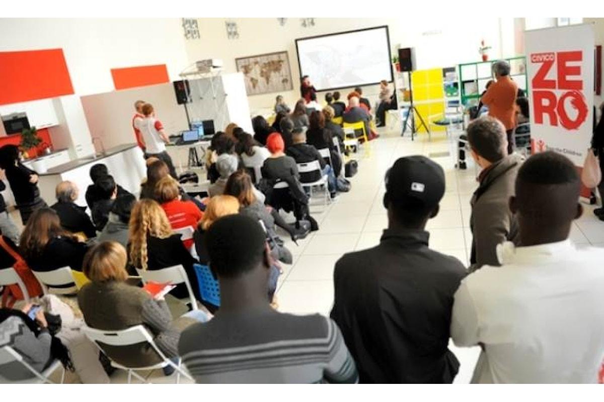 Save the Children raddoppia a Roma gli spazi del centro CivicoZero destinato al supporto dei minori stranieri non accompagnati