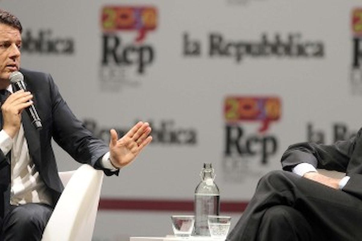 Napolitano, Renzi, Scalfari, tre figure dello stesso valore in un gioco di carte