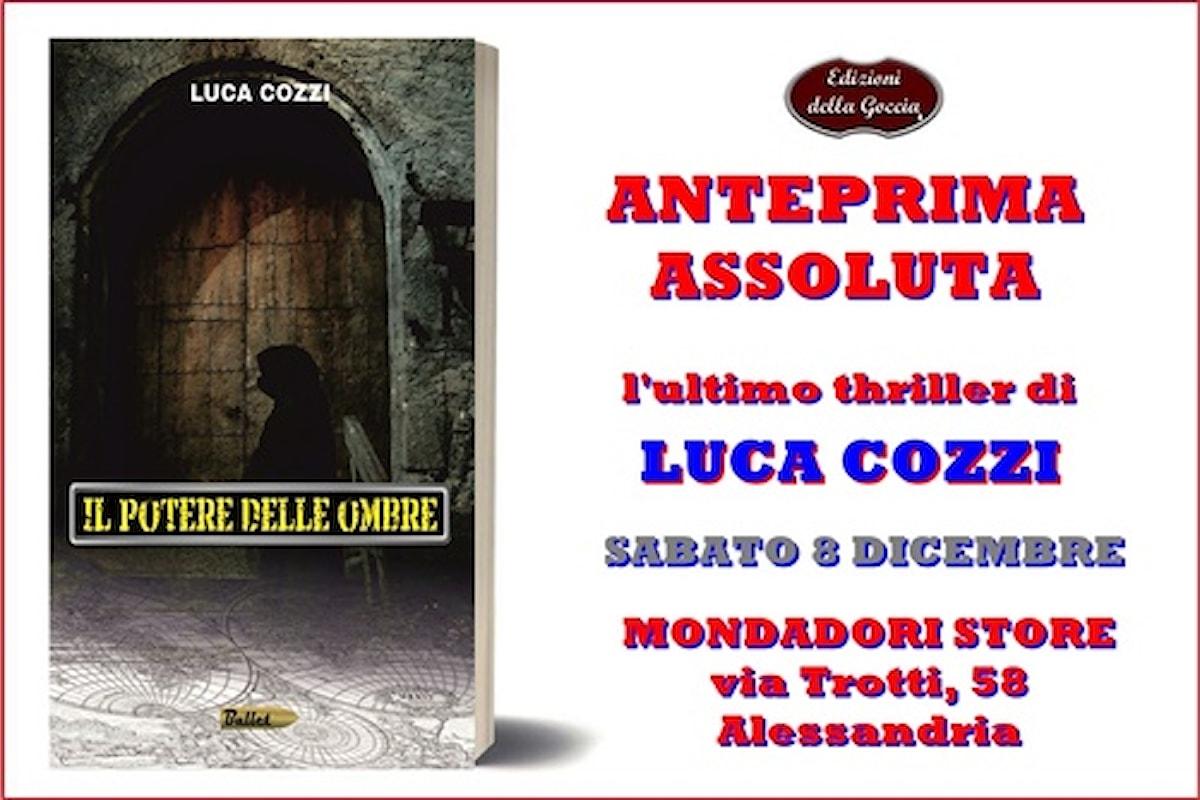 Il nuovo thriller di Luca Cozzi in anteprima da Mondadori Alessandria