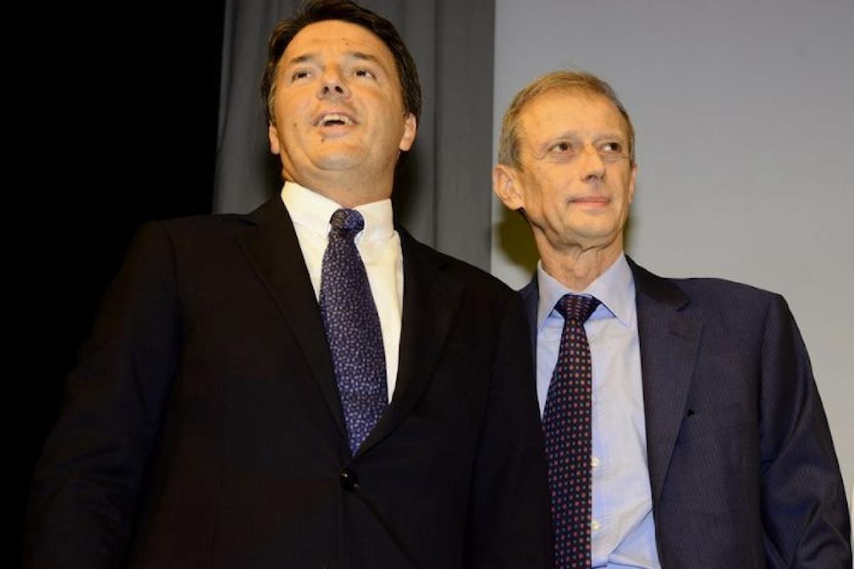 Da Fassino a Renzi nulla è cambiato, da abbiamo un banca al possiamo comprare di De Benedetti