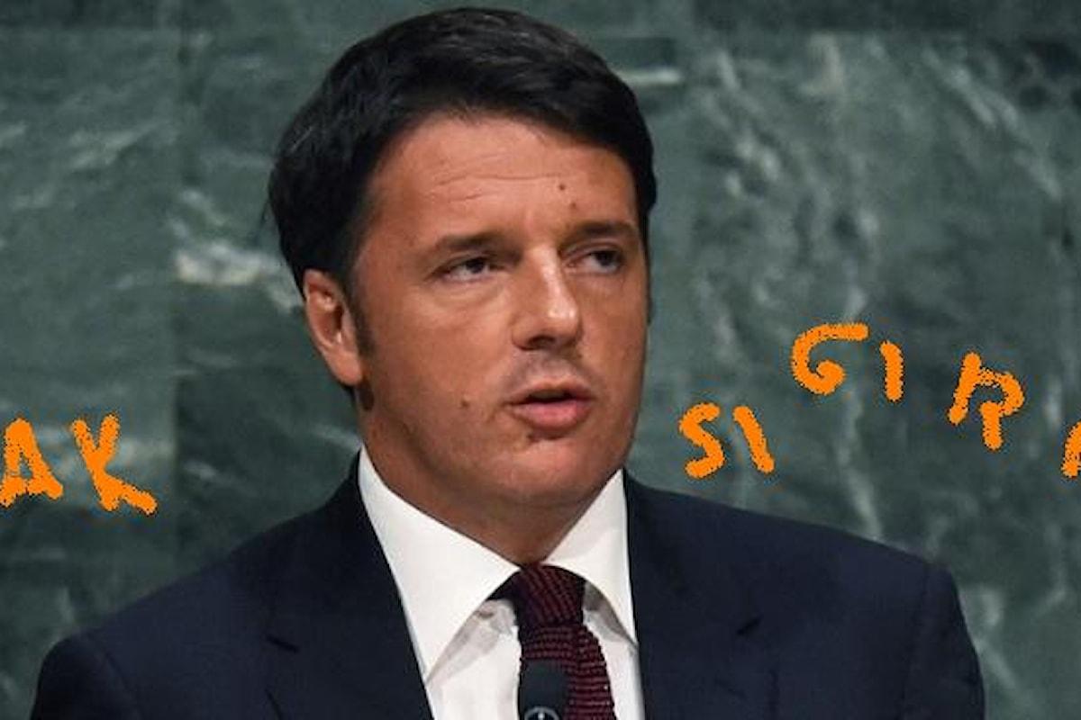 Renzi l'anchorman