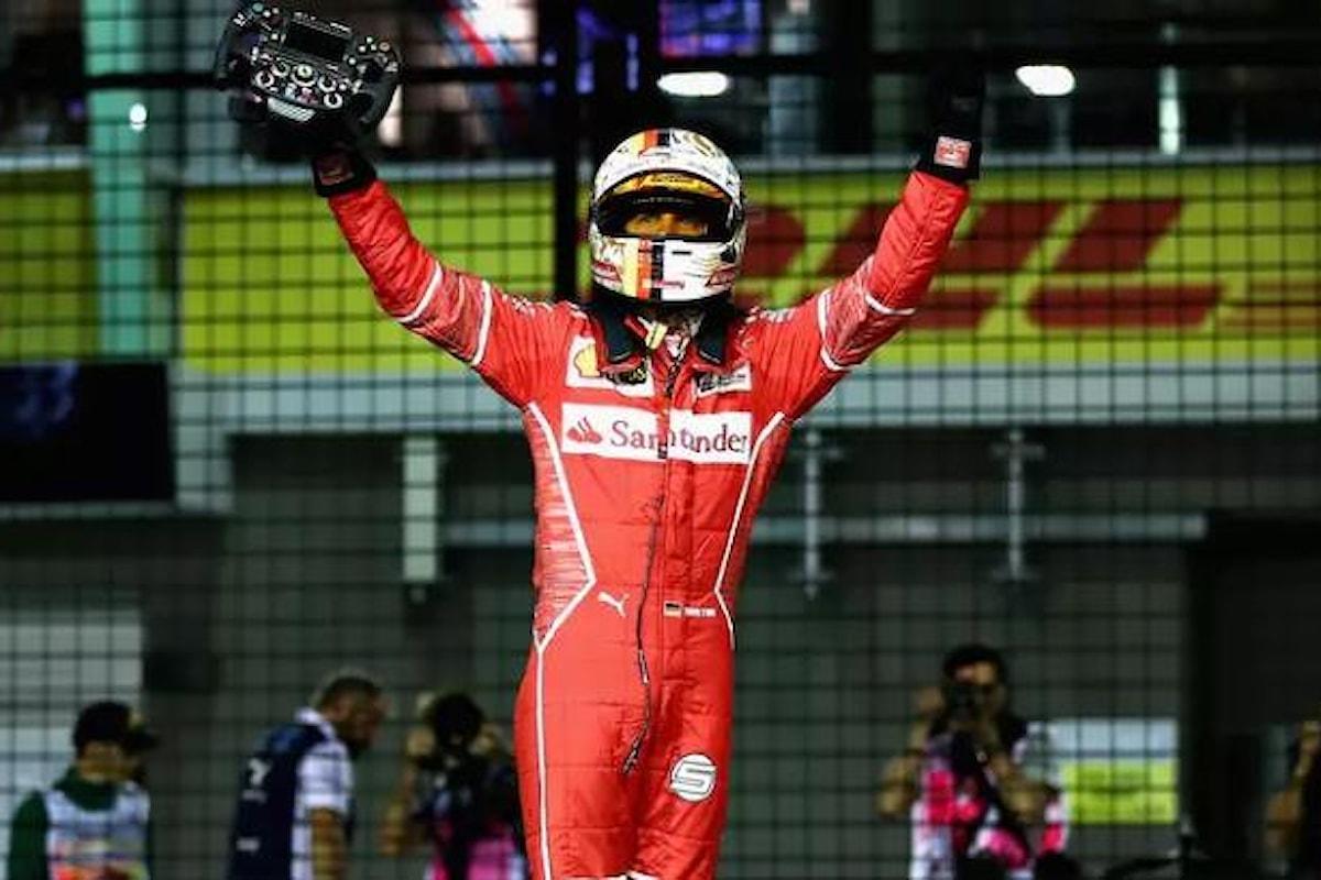 Formula 1. Ad Hockenheim la pole è di Vettel. Problemi per Hamilton